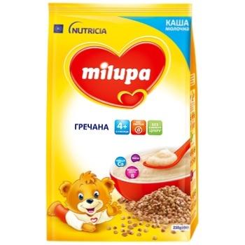 Каша Milupa молочная гречневая 210г