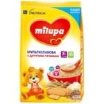 Каша Milupa молочная мультизлаковая печенье 210г