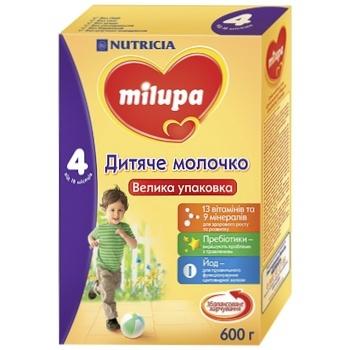 Смесь Milupa 4 молочная сухая 600г - купить, цены на Novus - фото 1