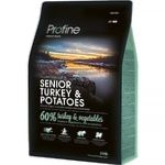 Profine Dry Food with Turkey and Potatoes for Elderly Dogs 3kg