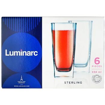 Набор стаканов Luminarc 320мл 6шт - купить, цены на Ашан - фото 1