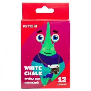 Мел Kite Jolliers белая круглая 12шт - купить, цены на УльтраМаркет - фото 1