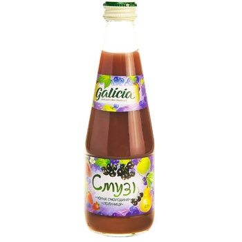Galicia Smoothies Black currant-Strawberry 0,3l - buy, prices for Auchan - image 5