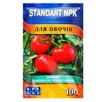 Добриво Standart NPK водорозчинне для овочів 100г
