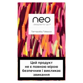 Стіки тютюнові GLO Neo Demi Terracotta Tobacco