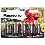 Батарейка Panasonic Rang AА 10шт