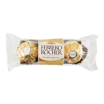 Конфеты вафельные Ferrero Rocher хрустящие 37.5г - купить, цены на Восторг - фото 1