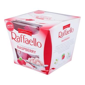 Цукерки Raffaello з малиною 150г