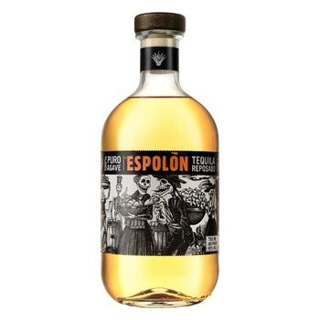 Текила Espolon Reposado 40% 0,75л