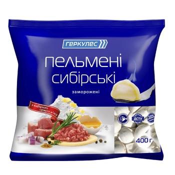 Hercules Siberian Frozen Dumplings 400g - buy, prices for Novus - image 1