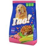 Корм сухий Гав! для дорослих собак М'ясне асорті 500г