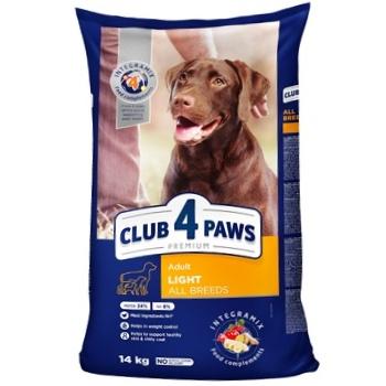 Корм сухий Клуб 4 лапи Преміум Контроль ваги для собак 14кг - купити, ціни на Ашан - фото 1