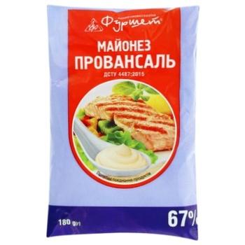 Mayonnaise Provencal 67% Furshet 180g - buy, prices for Furshet - image 1