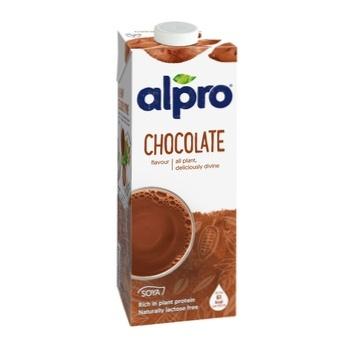 Soya chocolate flavor drink Alparo tetra pack 1000ml Belgium - buy, prices for CityMarket - photo 1