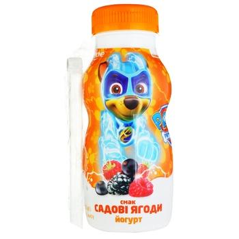 Йогурт питьевой Данколекция садовые ягоды 1,5% 185г - купить, цены на Фуршет - фото 1