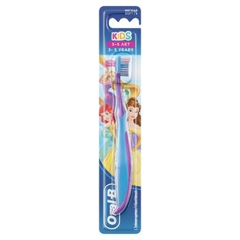 Зубная щетка Oral-B Kids Герои Диснея для детей 3-5 лет