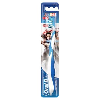 Мануальная зубная щетка Oral-B Junior Star Wars для детей 6-12 лет - купить, цены на Восторг - фото 1