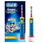 Электрическая зубная щетка Oral-B Stages Микки Маус детская