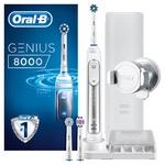 Электрическая зубная щетка Oral-B Genius 8000 белая