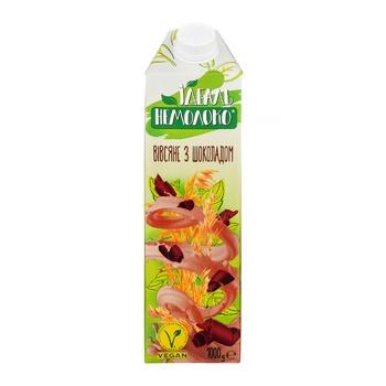 Напиток овсяный Идеаль Немолоко с наполнителем Шоколад ультрапастеризованный 1,5% 1кг - купить, цены на Фуршет - фото 2