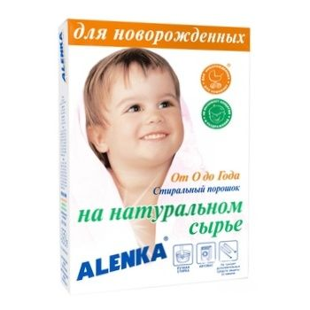 Alenka Washing Powder for Newborns for All Types of Washing on the Basis of Natural Raw Materials 450g
