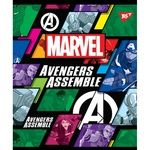Тетрадь Yes Marvel А5 косая линия 12 листов
