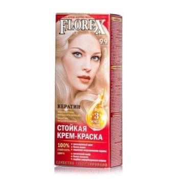 Крем-краска Florex для волос белокурый цвет - купить, цены на Ашан - фото 1