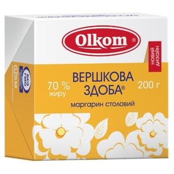 Olkom Vershkova Zdoba Margarine 70% 200г - buy, prices for Furshet - image 1