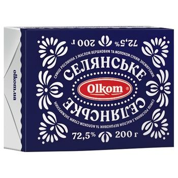 Olkom Selyanske Butter Blend 72,5% 200g