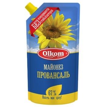 Майонез Олком Провансаль д/п 67% 300г - купити, ціни на Novus - фото 1