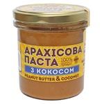 Паста арахісова Master Bob з кокосом 300г