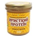 Паста арахисовая Master Bob Хрустящий протеин премиальная 300г - купить, цены на Novus - фото 1