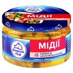 Vodniy Myr Mussels Meat In Spicy Oil