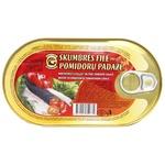 Baltijos Konservai Mackerel Fillet in Tomato Sauce 190g
