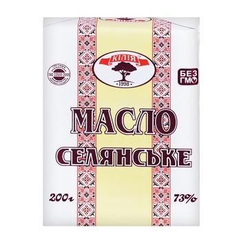 Масло Килия Селянское 73% 200г