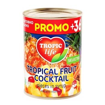 Коктель Tropic Life тропічний 425мл - купити, ціни на Фуршет - фото 8