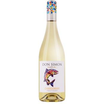 Вино Don Simon Seleccion Chardonnay біле сухе 12% 0,75л - купити, ціни на Novus - фото 1