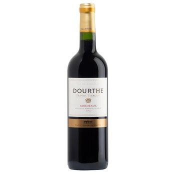 Dourthe Grand Terroirs Rouge Sec Red Dry Wine 13% 0,75l - buy, prices for Auchan - photo 1