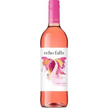 Вино Echo Falls Rose розовое сухое 10% 0,75л - купить, цены на Фуршет - фото 1