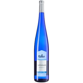 Вино Latinium Рислинг белое полусладкое 1,5л - купить, цены на Ашан - фото 1