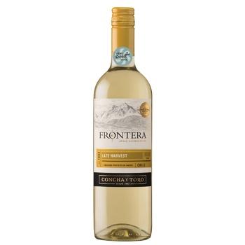 Вино Frontera Late Harvest біле солодке 12% 0,75л - купити, ціни на Ашан - фото 1
