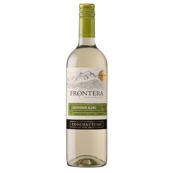 Frontera Sauvignon Blanc Wine white dry 12,5% 0,75l - buy, prices for Novus - image 1