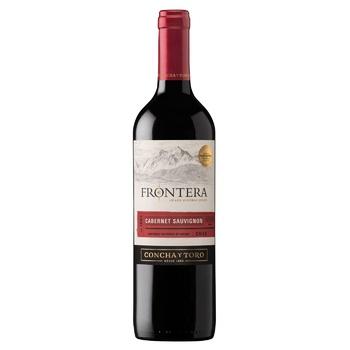 Вино Frontera Каберне Совиньон красное полусухое 12,5% 0,75л