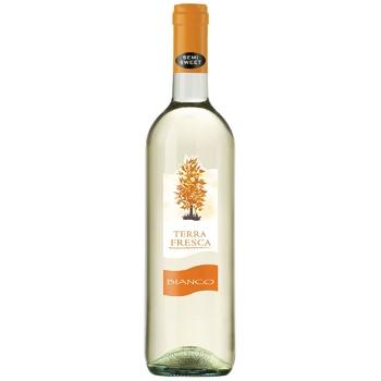 Terra Fresca Bianco White Semi-sweet Wine 10,5% 0,75l - buy, prices for EKO Market - photo 1