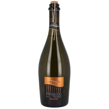 Terra Serena Prosecco Frizzante Dry Treviso DOC White Dry Sparkling Wine 11% 0,75l - buy, prices for Novus - image 1