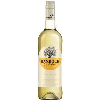 Banrock Station Chardonnay white dry wine 13% 0,75l