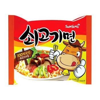 Samyang Sogokimyun Ramen Noodles Beef 120g - buy, prices for MegaMarket - image 1