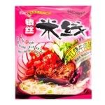 Hezhong rice noodles with stewed beef flavour 105g