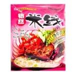 Лапша Hezhong рисовая со вкусом тушеной говядины 105г