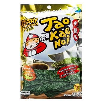 Snack nori Taokaenoi wasabi 15g Thailand - buy, prices for Auchan - photo 1